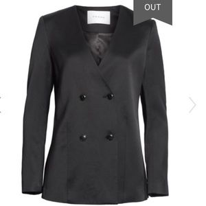 Frame Double Breasted Blazer